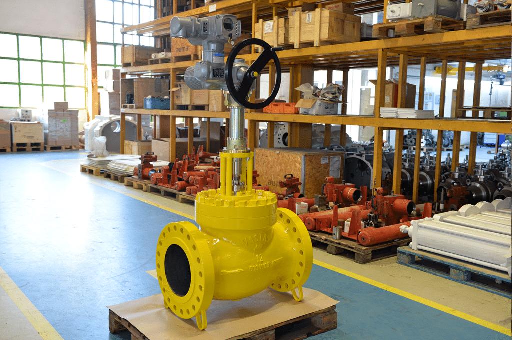 Facility-yellow valve-production-E300