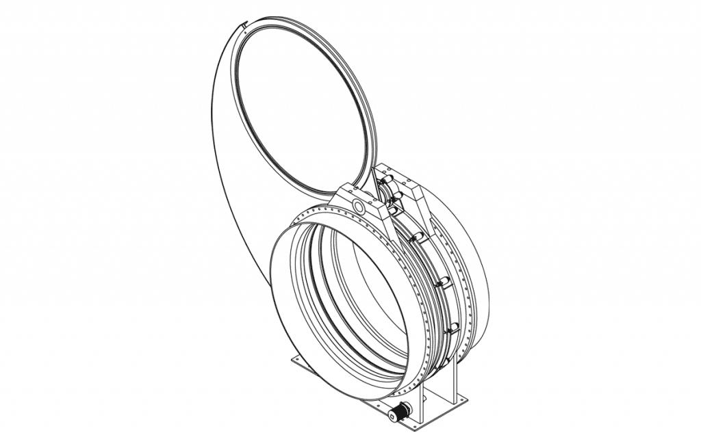 Özel İstek Valfler - E804 Teknik Çizim - Vastaş