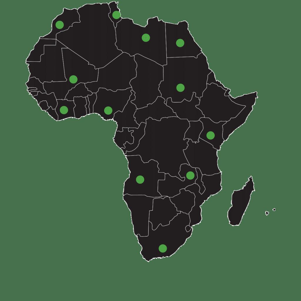 Africa Harita - Afrika Referanslar - Vastaş
