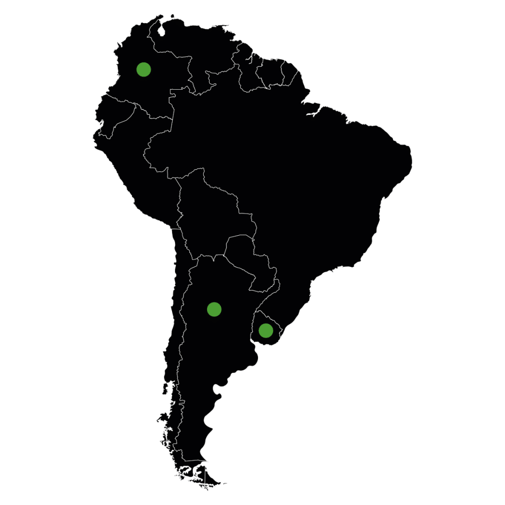 South America Map - Vastas South America References