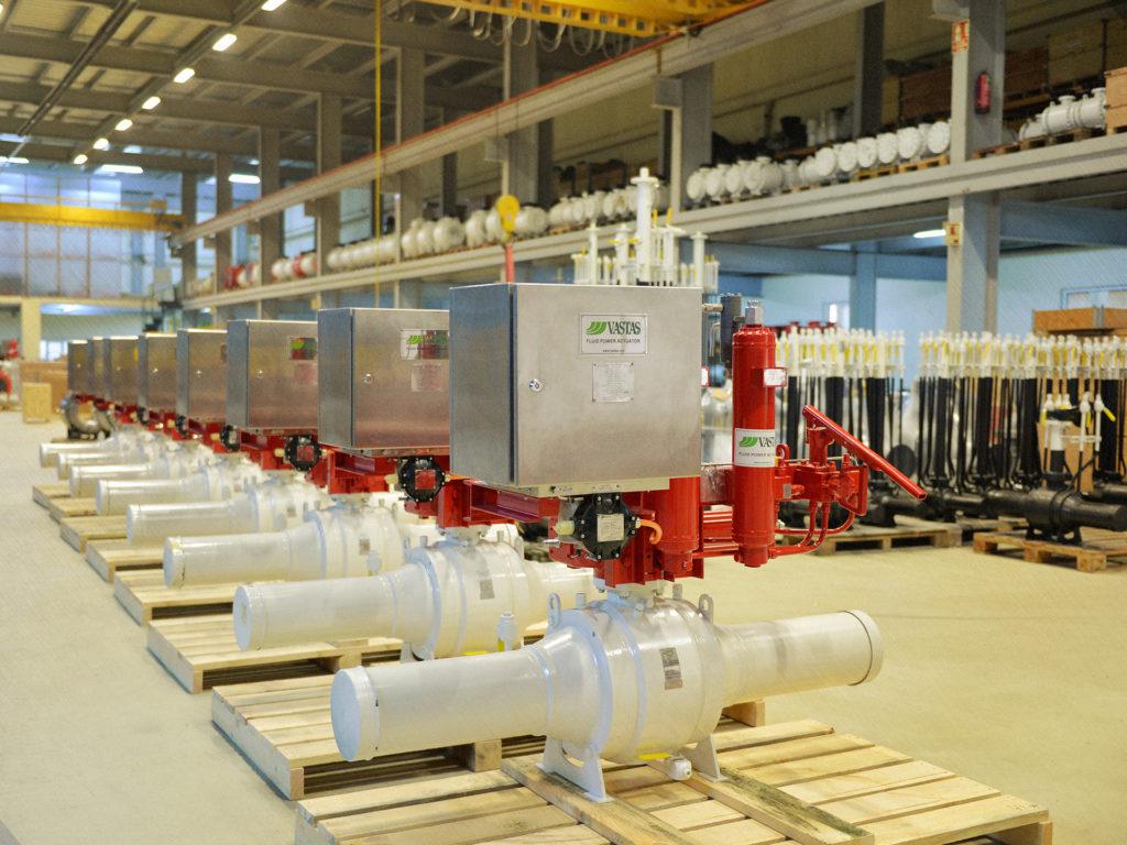 Production-valve-facility