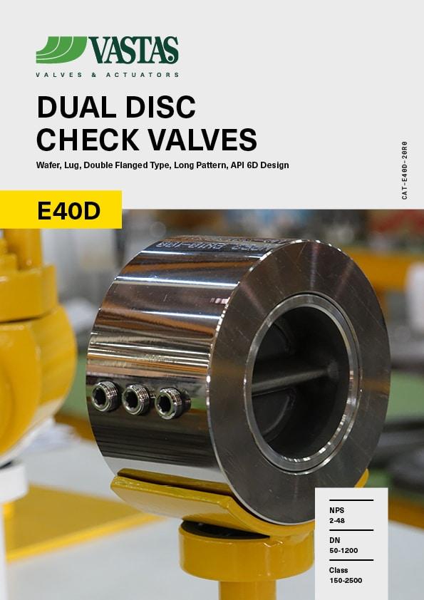 Dual Disc Check Valves