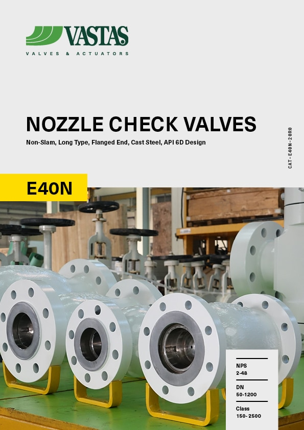 Nozzle Check Valves